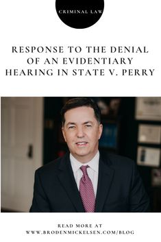 While we are disappointed that Judge Brown did not order an evidentiary hearing to get to the bottom of Jose Garza's actions, it is important to recognize that Judge Brown simply concluded that an evidentiary hearing was not needed because prosecutors are not absolutely required to present exculpatory evidence to a grand jury. Criminal Law, Criminal Defense, Austin Police, Homicide Detective, Foster Family, Grand Jury, Press Release, Denial, The Fosters