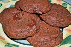 Soft, chewy, and chocolately with a hint of coffee flavor.  So good and grain free!