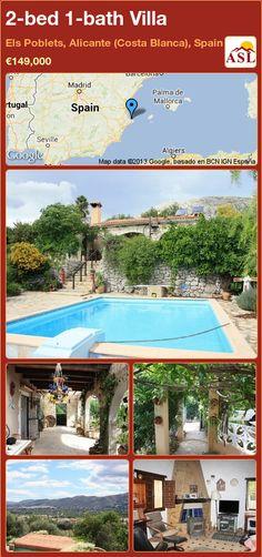 2-bed 1-bath Villa in Els Poblets, Alicante (Costa Blanca), Spain ►€149,000 #PropertyForSaleInSpain