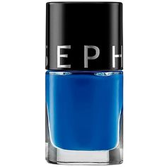Amazon.com : Color Hit Nail Polish Sephora Shark Attack - Royal Blue :... ($10) ❤ liked on Polyvore featuring beauty products, nail care, nail polish, sephora collection and sephora collection nail lacquer
