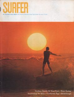 John Severson was the original architect of SURFER Magazine… Come meet the man in person and check out his new book, SURF, tomorrow at our San Francisco shop from 6-9 pm. Photo: Stoner X Severson