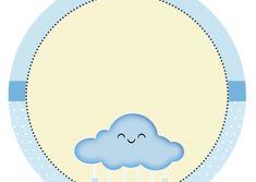 Tag-redonda-personalizada-gratis-chuva-de-bencaos-menino-1 Summer Fair, Gabriel, Tags, Shower Prizes, Free Printable, Stall Signs, Archangel Gabriel, Mailing Labels