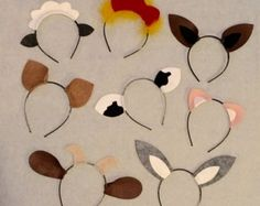 Variety Animal Ears headbands birthday party petting by Partyears