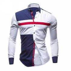Long Sleeve UK Style Casual / Dress Shirt