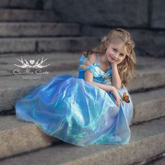 Who needs a prince? Not this girl.  Photo by: @camilliacourtsphoto  #newcinderella #disneyprincesses #disneyprincess #disneyprincesscosplayer #cinderella #cosplay #cosplayingkids #kidswhocosplay #butterflies #butterfly