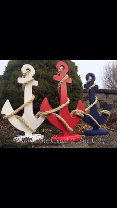 Hey, I found this really awesome Etsy listing at https://www.etsy.com/listing/171897807/custom-anchor-wedding-centerpiece