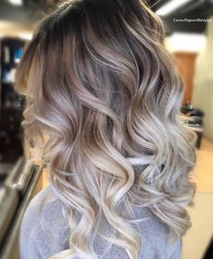 Golden Blonde Balayage for Straight Hair - Honey Blonde Hair Inspiration - The Trending Hairstyle Hair Color And Cut, Ombre Hair Color, Hair Color Balayage, Hair Highlights, Dark To Blonde Balayage, Brown Hair Dyed Blonde, Balayage Ombre, Grey Ombre, Haircolor
