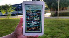 Leitura de verão da Dani: A História Secreta da Criatividade de Kevin Ashton. #criatividade #leituradeverao #summerreading #summertime #livro #book #leitura #kevinashton #creativity