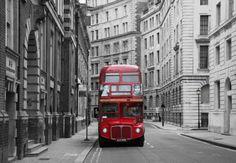 Bus Stop London Wall Mural - Photo Wallpaper for sale online Wallpaper For Sale, Cheap Wallpaper, Custom Wallpaper, Photo Wallpaper, Wall Wallpaper, Designer Wallpaper, Living Room Murals, Wall Murals, Wall Art