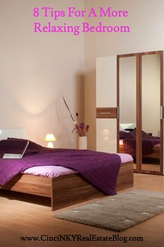 Learn what makes a bedroom more peaceful and more restful.