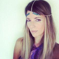 Going Green Goddess Head Chain. $38.00, via Etsy.