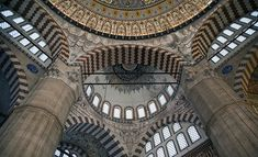Mimar Sinan, Mosque of Selim II, Edirne (article) Islamic World, Islamic Art, Byzantine Architecture, Z Arts, Mosque, Art History, Colonial, Medieval