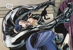"""Batman & Catwoman """"It's about to get loud in here. Catwoman Y Batman, Catwoman Cosplay, I Am Batman, Marvel Dc Comics, Comic Book Characters, Comic Character, Comic Books Art, Comic Art, New 52"""