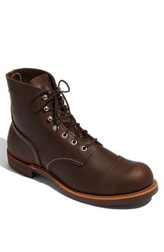 Red Wing 'Iron Ranger' 6 Inch Boot (Men) available at #Nordstrom -size 10.5