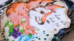 Tutorial for Scrapbook cover using chameleon pens http:& Scrapbook Cover, Moose Art, About Me Blog, Arts And Crafts, Animals, Animales, Animaux, Animal, Art And Craft