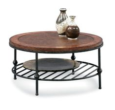 Round Cocktail Table w Faux Leather Top & Gun Metal Base - Bentley Bassett Mirror,http://www.amazon.com/dp/B003YPIOJM/ref=cm_sw_r_pi_dp_8R-.sb1R0X98QCST