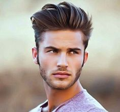 Elvis was the King of the and and today is pompadour hairstyle is King again. Guys are rocking the pompadour combined with a wicked fade to Short Hairstyles 2015, Popular Mens Hairstyles, Quiff Hairstyles, Pompadour Hairstyle, Newest Hairstyles, Hipster Hairstyles, Amazing Hairstyles, Medium Hairstyles, Simple Hair Style Images
