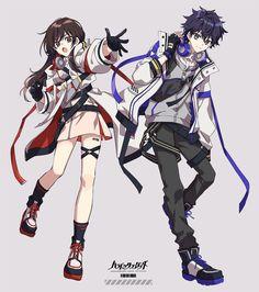 Kawaii Anime Girl, Anime Art Girl, Anime Guys, Character Drawing, Character Concept, Cyberpunk Anime, Fashion Design Drawings, Character Design References, Art Reference Poses