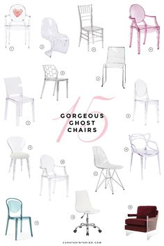 Single Seats For Living Room Lucite Furniture, Furniture Dolly, Luxury Furniture, Wayfair Living Room Chairs, Dining Room Chairs, Kitchen Chairs, Ghost Chairs Dining, Office Chairs, Chaise Ghost