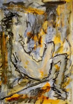 désinquiètude : Mixte sur papier - Phil Jacques