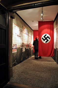 Schindler's Factory, Krakow. Something about this room seems off, can't tell what it is though.