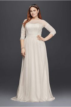 Davids bridal. Wedding dress.9WG3817