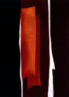 """Abstraction"" by G.O'Keeffe, oil on board, 1929"