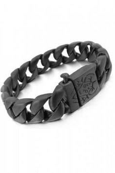 Men's Jewelry Ekslusive Black Chain Bracelet Titanium Steel - Gelang Pria , Lazada Indonesia klik >> http://goo.gl/Vt3GpI