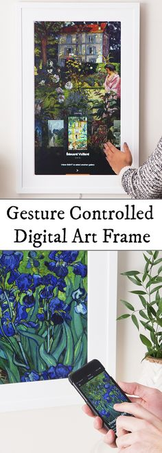 With its sophisticated matte display, pictures look lifelike inside this museum-worthy frame. Showcase your photos or any of the 30,000 works of art in Meural's database.