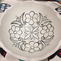 #çini #çinikase #kase #ceramic #handmade #handpainted