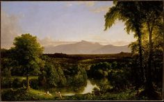 Thomas Cole (American, 1801–1848). View on the Catskill—Early Autumn, 1836–37. The Metropolitan Museum of Art, New York. Gift in memory of Jonathan Sturges by his children, 1895 (95.13.3)