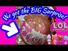 UNBOXING the LOL Big Surprise Ball!! HOT Toy! - YouTube