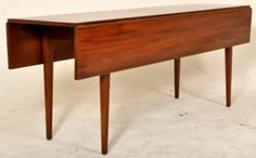 Fine Antique American Cherry Harvest Dining Drop Leaf Table New England Virginia