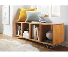 Foe entry way shoe bench/storage:  Ferris Bench - Bookcases & Storage - Kids - Room & Board