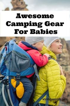Kayak Camping Hacks Want to include baby in your camping adventures? Check out this helpful Camping Gear for Babies that will make your outings that much easier. Baby Camping Gear, Camping Bedarf, Camping With A Baby, Camping Chairs, Family Camping, Camping Ideas, Camping Essentials, Coleman Camping, Camping Snacks