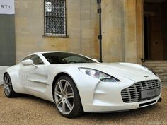 Aston Martin One-77; every one of these is hand built to order. no one gets a test drive.