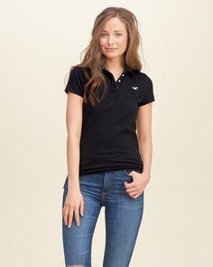 Camiseta Polo Slim Fit Women Hollister 2016 - BR Hollister