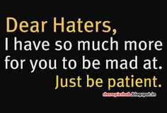 Share Pics Hub: Haters Quote in English With Pic | Attitude Quote Image For Facebook