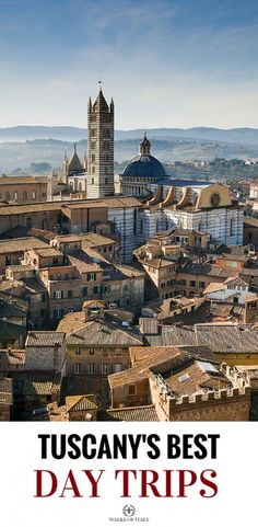 The medieval city of Siena is one of the best day trips in Tuscany and it easy to reach from Florence.