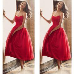 Red Short Prom Dresses Pst0354 on Luulla