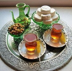 A great day with wonderful cups of Persian #tea!