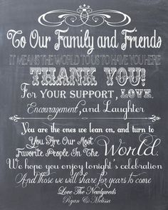 have this displayed where the chalkboards and cameras are so people can take photos with messages. Personalized Chalkboard Wedding Thank You Guest Book or Reception Sign- PDF File on Etsy, $12.00