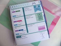 Image result for decorating erin condren horizontal life planner with washi tape
