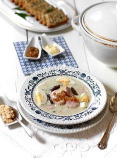 Zupa chrzanowa  #obiad #przepisy #zupa #chrzan #białakiełbasa #zakwas #POLOmarket
