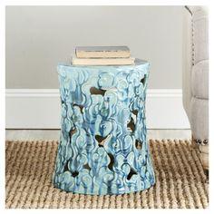 Found it at Wayfair - Cloud Garden Stool Counter Stools, Bar Stools, Ceramic Garden Stools, Vanity Stool, Blue Clouds, Indoor Outdoor, Outdoor Decor, Garden Seating, Cool Furniture