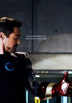 Iron Man 3 - nothing's been the same since New York (nothing's been the same since The Avengers) Marvel Comics, Marvel Avengers, X Men, Jordy Baan, Destiel, Johnlock, Robert Downey Jr., Nerd, Iron Man 3
