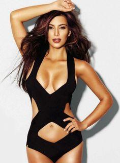 Kim Kardashian. Hate all you want, she is beautiful!
