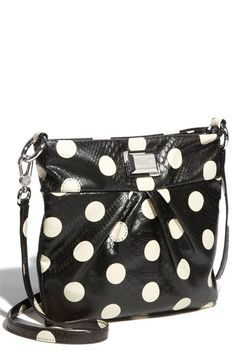 I love this purse! It probably wouldn't look great with all of my stripes, but I think I could make it work.