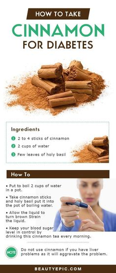 Cinnamon for Diabetes: Does it Really Work? #diabeticlifestyle #DiabetesCureNutrition