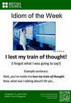 I lost my train of thought!